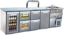 Banchi frigo refrigerazione birra Image